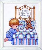 Tobin Baby Counted Cross Stitch Kit Bedtime Prayer Boy Sampler
