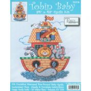 Tobin Baby Stamped Cross Stitch Kit Baby Quilt