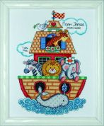 Tobin Baby Counted Cross Stitch Kit Noahs Ark Sampler