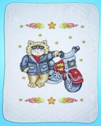 Design Works Counted Cross Stitch Kit Born to be Wild Quilt
