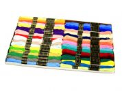 Duchess Embroidery Silks Floss Thread Pack  36 Assorted Colours