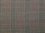 Poly Viscose Tartan Suiting Dress Fabric  Brown