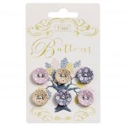 Tilda Autumn Tree Fabric Covered Buttons