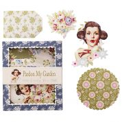 Tilda Pardon My Garden Candy Box Decoupage Set