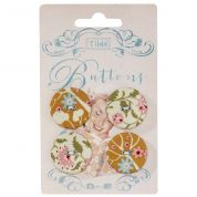 Tilda Spring Diaries Fabric Covered Buttons