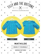 Tilly and the Buttons Ladies Sewing Pattern Mathilde Blouse