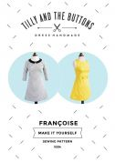 Tilly and the Buttons Ladies Easy Sewing Pattern Francoise Dress