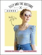 Tilly and the Buttons Ladies Sewing Pattern Agnes Jersey Top