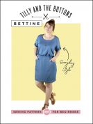 Tilly and the Buttons Ladies Easy Sewing Pattern Bettine Dress