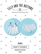 Tilly and the Buttons Ladies Sewing Pattern Fifi Pyjamas