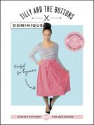 Tilly and the Buttons Ladies Easy Sewing Pattern Dominique Skirt