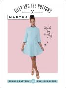 Tilly and the Buttons Ladies Sewing Pattern Martha Dress