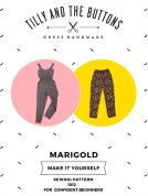 Tilly and the Buttons Ladies Sewing Pattern Marigold Jumpsuit & Trousers