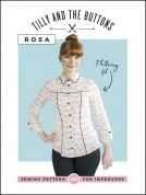 Tilly and the Buttons Ladies Sewing Pattern Rosa Shirt & Shirt Dress