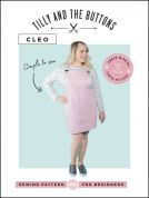 Tilly and the Buttons Ladies Easy Sewing Pattern Cleo Pinafore & Dungaree Dress