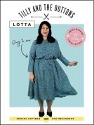 Tilly and the Buttons Sewing Pattern Lotta Dress