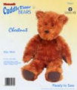 Minicraft Cuddletime Teddy Bear Soft Toy Making Kit