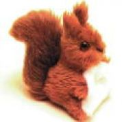 Minicraft Mini Soft Toy Making Kit Squirrel
