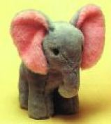 Minicraft Cuddly Soft Toy Making Kit Elephant