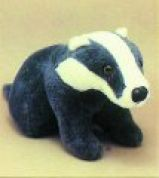 Minicraft Cuddly Soft Toy Making Kit Badger