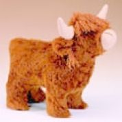 Minicraft Cuddly Soft Toy Making Kit Highland Cow