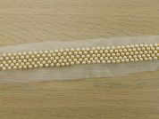 40mm Deluxe Pearl Trim  Ivory