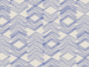 Art Gallery Fabrics Limestone Feel Indigo Cotton Lawn Dress Fabric