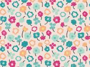 Art Gallery Fabrics Waving Buds Candied Cotton Lawn Dress Fabric
