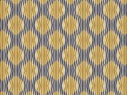Art Gallery Fabrics Acropolis Columns Gilt Cotton Lawn Dress Fabric