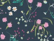 Art Gallery Fabrics Blossom Swale Depth Cotton Lawn Dress Fabric
