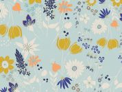 Art Gallery Fabrics Central Park Breeze Cotton Voile Dress Fabric