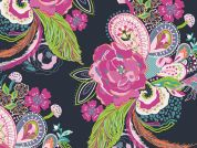Art Gallery Fabrics Nib and Pluck Zinnia Cotton Voile Dress Fabric
