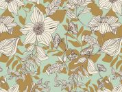 Art Gallery Fabrics Thrive Passiflora Cotton Voile Dress Fabric