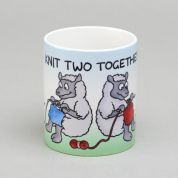 Vanessa Bee Knit Two Together Knitters Mug