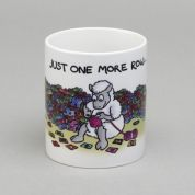 Vanessa Bee Just One More Row Knitters Mug
