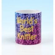 Vanessa Bee World's Best Knitter Knitters Mug