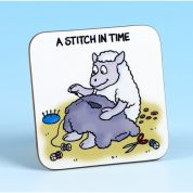 Vanessa Bee A Stitch in Time Sewing Coaster