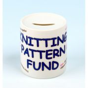 Vanessa Bee Knitting Pattern Fund Money Bank