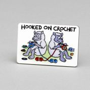 Vanessa Bee Hooked on Crochet Fridge Magnet