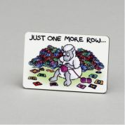 Vanessa Bee Just One More Row Knitters Fridge Magnet
