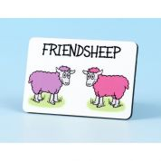 Vanessa Bee Friendsheep Fridge Magnet
