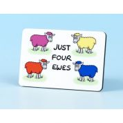 Vanessa Bee Just Four Ewes Fridge Magnet