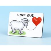Vanessa Bee I Love Ewe Fridge Magnet