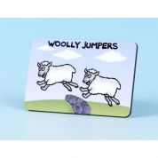 Vanessa Bee Woolly Jumpers Fridge Magnet