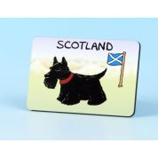 Vanessa Bee Scottie Dog Fridge Magnet