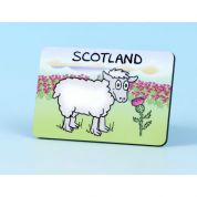 Vanessa Bee Sheep with Thistle Fridge Magnet