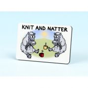 Vanessa Bee Knit & Natter Knitters Fridge Magnet