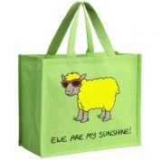 Vanessa Bee Ewe Are My Sunshine Jute Bag