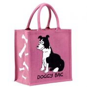 Vanessa Bee Doggy Bag Jute Bag