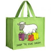 Vanessa Bee Shop Til Ewe Drop Jute Bag